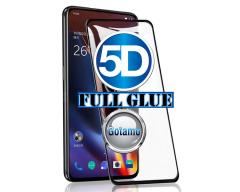 Apsauga ekranui gaubtas grūdintas stiklas OnePlus 7 Pro mobiliesiems telefonams juodos spalvos 5D pilnas padengimas klijais