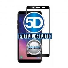 Apsauga ekranui gaubtas grūdintas stiklas Samsung Galaxy A6+ mobiliesiems telefonams juodos spalvos Vilnius | Šiauliai | Klaipėda