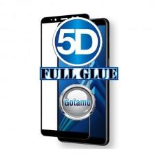 Apsauga ekranui gaubtas grūdintas stiklas Samsung Galaxy A8 (2018) mobiliesiems telefonams juodos spalvos Šiauliai | Vilnius | Šiauliai