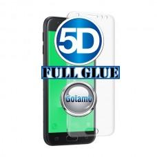 Apsauga ekranui gaubtas grūdintas stiklas Samsung Galaxy J5 (2017) J5 Pro mobiliesiems telefonams skaidrus 5D pilnas padengimas klijais
