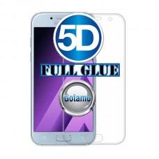 Apsauga ekranui gaubtas grūdintas stiklas Samsung Galaxy J7 (2017) J7 Pro mobiliesiems telefonams skaidrus 5D pilnas padengimas klijais