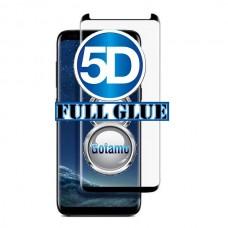 Apsauga ekranui gaubtas grūdintas stiklas Samsung Galaxy S8 mobiliesiems telefonams siauresnis juodos spalvos pilnas padengimas klijais Kaunas | Plungė | Telšiai