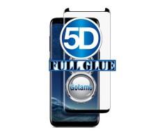 Apsauga ekranui gaubtas grūdintas stiklas Samsung Galaxy S8 mobiliesiems telefonams siauresnis juodos spalvos pilnas padengimas klijais