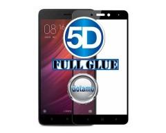 Apsauga ekranui gaubtas grūdintas stiklas Xiaomi Redmi Note 5A mobiliesiems telefonams juodos spalvos 5D pilnas padengimas klijais