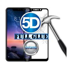 Apsauga ekranui gaubtas grūdintas stiklas Xiaomi Redmi Note 6 Pro mobiliesiems telefonams juodos spalvos Plungė | Šiauliai | Šiauliai