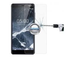 Apsauga ekranui grūdintas stiklas Nokia 5.1 mobiliesiems telefonams