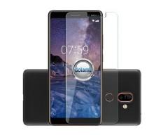 Apsauga ekranui grūdintas stiklas Nokia 7 Plus mobiliesiems telefonams