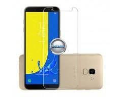 Apsauga ekranui grūdintas stiklas Samsung Galaxy J6 (2018) mobiliesiems telefonams