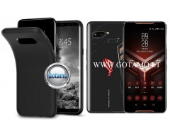 B-matte dėklas nugarėlė Asus ROG Phone mobiliesiems telefonams juodos spalvos