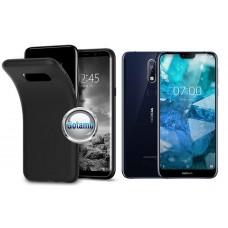 B-matte dėklas nugarėlė Nokia 7.1 mobiliesiems telefonams juodos spalvos Kaunas | Vilnius | Plungė