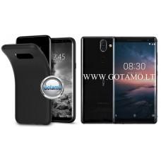 B-matte dėklas nugarėlė Nokia 8 Sirocco mobiliesiems telefonams juodos spalvos Klaipėda | Klaipėda | Klaipėda