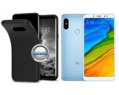 B-matte dėklas nugarėlė Xiaomi Redmi Note 5, Xiaomi Redmi Note 5 Pro mobiliesiems telefonams juodos spalvos