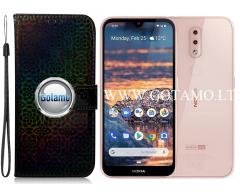 Bloome dėklas Nokia 4.2 mobiliesiems telefonams juodos spalvos