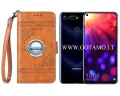Corinth dėklas Huawei Honor View 20 mobiliesiems telefonams oranžinės spalvos