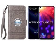 Corinth dėklas Huawei Honor View 20 mobiliesiems telefonams pilkos spalvos