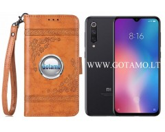 Corinth dėklas Xiaomi Mi 9 SE mobiliesiems telefonams oranžinės spalvos