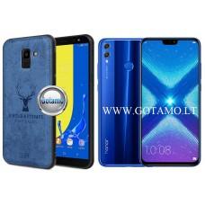 Deer dėklas nugarėlė Huawei Honor 8X mobiliesiems telefonams mėlynos spalvos Kaunas | Plungė | Šiauliai