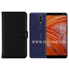 Diary Mate dėklas Nokia 3.1 Plus mobiliesiems telefonams juodos spalvos Palanga | Vilnius | Plungė