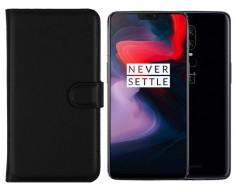 Diary Mate dėklas OnePlus 6 mobiliesiems telefonams juodos spalvos