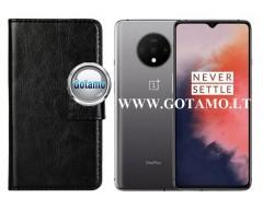 Diary Mate dėklas OnePlus 7T mobiliesiems telefonams juodos spalvos