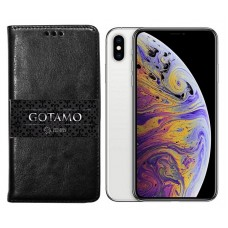 Gotamo D-gravity natūralios odos dėklas Apple iPhone Xs Max mobiliesiems telefonams juodos spalvos Šiauliai | Šiauliai | Klaipėda