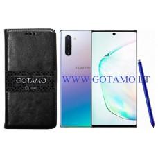 Gotamo D-gravity natūralios odos dėklas Samsung Galaxy Note 10 mobiliesiems telefonams juodos spalvos Klaipėda | Plungė | Vilnius