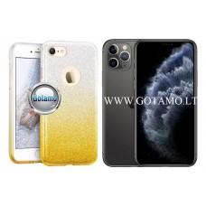 iLLuminaTe silikoninis dėklas nugarėlė Apple iPhone 11 Pro telefonams aukso spalvos Palanga | Plungė | Klaipėda