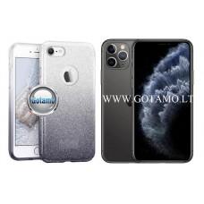 iLLuminaTe silikoninis dėklas nugarėlė Apple iPhone 11 Pro telefonams sidabro spalvos Kaunas | Šiauliai | Vilnius