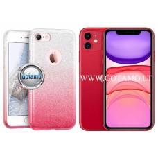 iLLuminaTe silikoninis dėklas nugarėlė Apple iPhone 11 telefonams rožinės spalvos