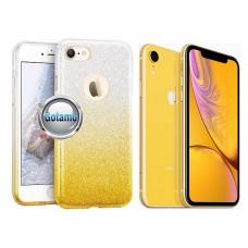 iLLuminaTe silikoninis dėklas nugarėlė Apple iPhone XR telefonams aukso spalvos Vilnius | Telšiai | Telšiai