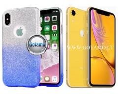 iLLuminaTe silikoninis dėklas nugarėlė Apple iPhone XR telefonams žydros spalvos