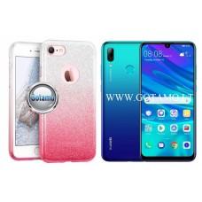 iLLuminaTe silikoninis dėklas nugarėlė Huawei P Smart (2019) telefonams rožinės spalvos