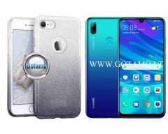 iLLuminaTe silikoninis dėklas nugarėlė Huawei P Smart (2019) telefonams sidabro spalvos