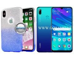 iLLuminaTe silikoninis dėklas nugarėlė Huawei P Smart (2019) telefonams žydros spalvos