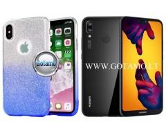 iLLuminaTe silikoninis dėklas nugarėlė Huawei P20 Lite telefonams žydros spalvos