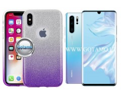 iLLuminaTe silikoninis dėklas nugarėlė Huawei P30 telefonams violetinės spalvos