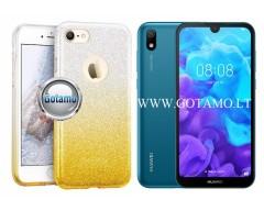 iLLuminaTe silikoninis dėklas nugarėlė Huawei Y5 (2019) Huawei Honor 8S telefonams aukso spalvos