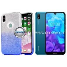 iLLuminaTe silikoninis dėklas nugarėlė Huawei Y5 (2019) Huawei Honor 8S telefonams žydros spalvos Palanga | Šiauliai | Klaipėda