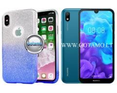iLLuminaTe silikoninis dėklas nugarėlė Huawei Y5 (2019) Huawei Honor 8S telefonams žydros spalvos