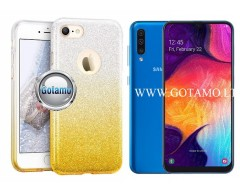 iLLuminaTe silikoninis dėklas nugarėlė Samsung Galaxy A50 telefonams aukso spalvos