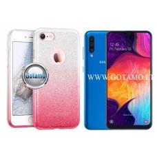 iLLuminaTe silikoninis dėklas nugarėlė Samsung Galaxy A50 telefonams rožinės spalvos