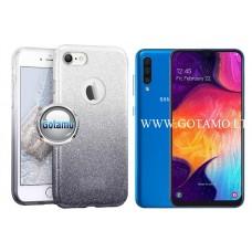 iLLuminaTe silikoninis dėklas nugarėlė Samsung Galaxy A50 telefonams sidabro spalvos Šiauliai | Plungė | Klaipėda