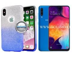 iLLuminaTe silikoninis dėklas nugarėlė Samsung Galaxy A50 telefonams žydros spalvos