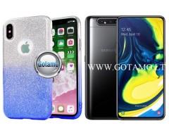 iLLuminaTe silikoninis dėklas nugarėlė Samsung Galaxy A80 telefonams žydros spalvos