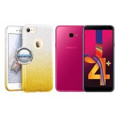 iLLuminaTe silikoninis dėklas nugarėlė Samsung Galaxy J4+ (2018) telefonams aukso spalvos Klaipėda | Plungė | Palanga