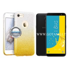 iLLuminaTe silikoninis dėklas nugarėlė Samsung Galaxy J6 (2018) telefonams aukso spalvos Vilnius | Plungė | Klaipėda
