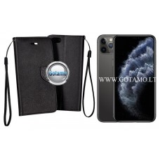 Manager dėklas Apple iPhone 11 Pro Max mobiliesiems telefonams juodos spalvos Šiauliai | Vilnius | Telšiai