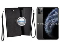 Manager dėklas Apple iPhone 11 Pro Max mobiliesiems telefonams juodos spalvos