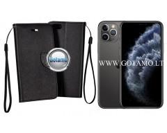 Manager dėklas Apple iPhone 11 Pro mobiliesiems telefonams juodos spalvos