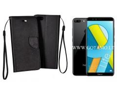 Manager dėklas Huawei Honor 9 Lite mobiliesiems telefonams juodos spalvos